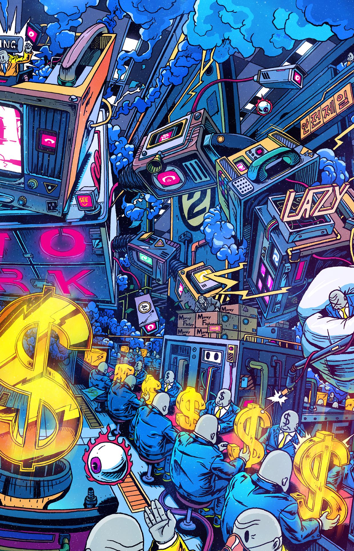 Dali Iphone Wallpaper La Vie Moderne De Lee Juyong