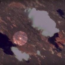 Un départ de fusée filmé depuis l'espace