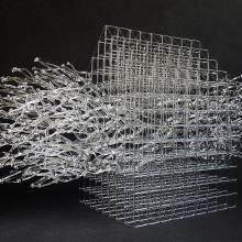 Des sculptures de verre délicates à l'extrême