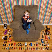 Toy Story : des portraits d'enfants au milieu de leurs jouets
