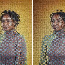 Des portraits mélangés, découpés ou entrelacés