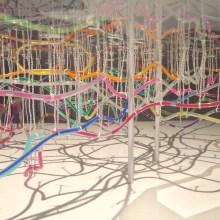 Tokyo Arteria : une maquette du métro de Tokyo en tubes colorés
