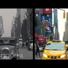 80 ans de New-york et d'autres villes américaines, en vidéos avant-après