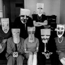 The Masked Series par Inge Morath et Saul Steinberg