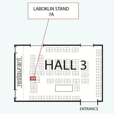 mapp to Laboklin stand at Crufts