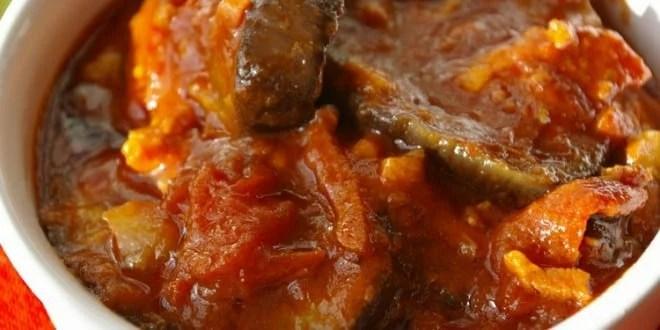 Sauce daubergine  La recette africaine