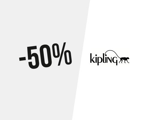 Code promo Kipling → 50% de remise • août 2019