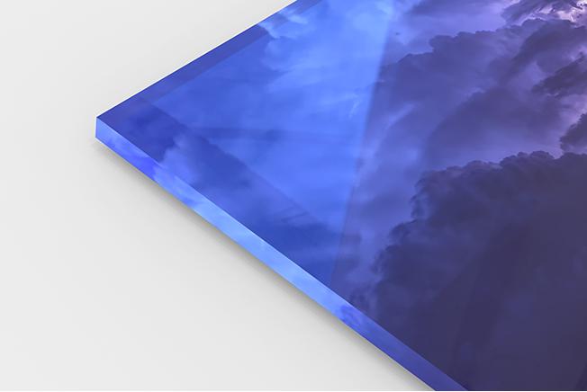 tirage photo sur verre acrylique