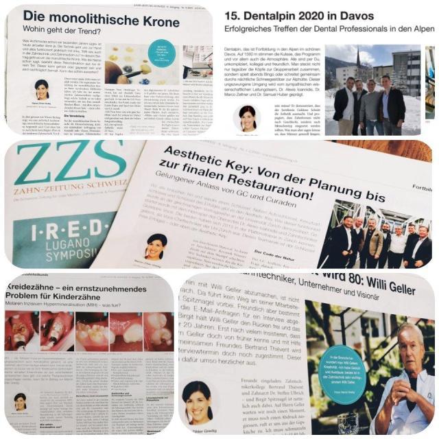 Zahnzeitung Schweiz Best of Collage