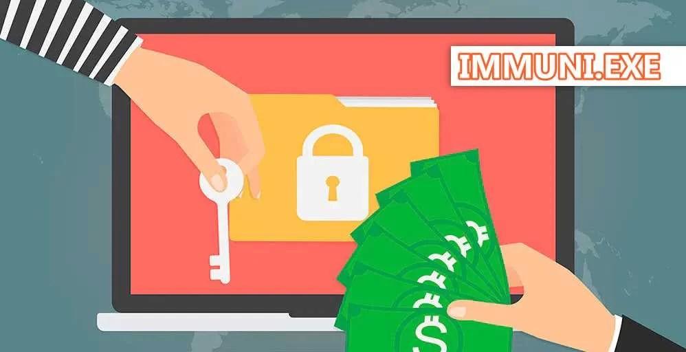 Immuni.exe il ransomware che sequestra i tuoi file