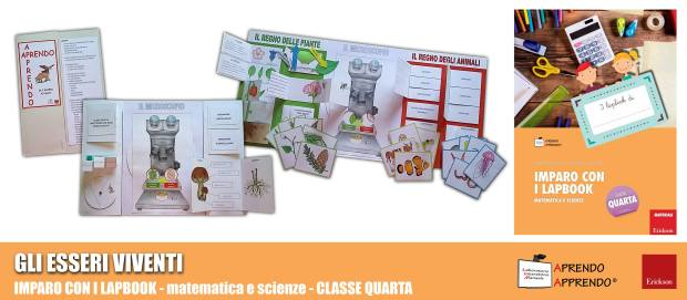 lapbook esseri viventi