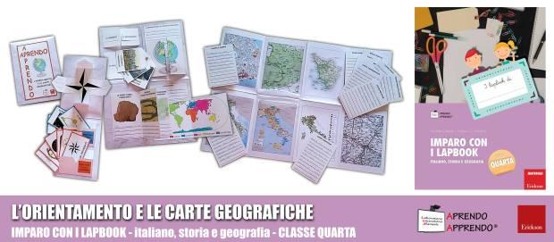 lapbook orientamento e carte geografiche