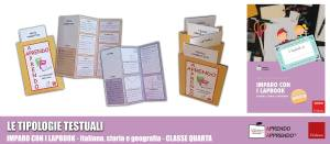 lapbook tipologie testuali