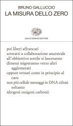 Verticali e La misura dello zero – Bruno Galluccio