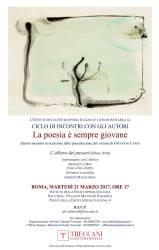 La poesia è sempre giovane: Gwyneth Lewis – Roma, 21 marzo