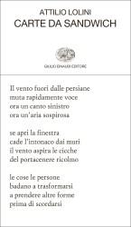 Carte da sandwich – Attilio Lolini