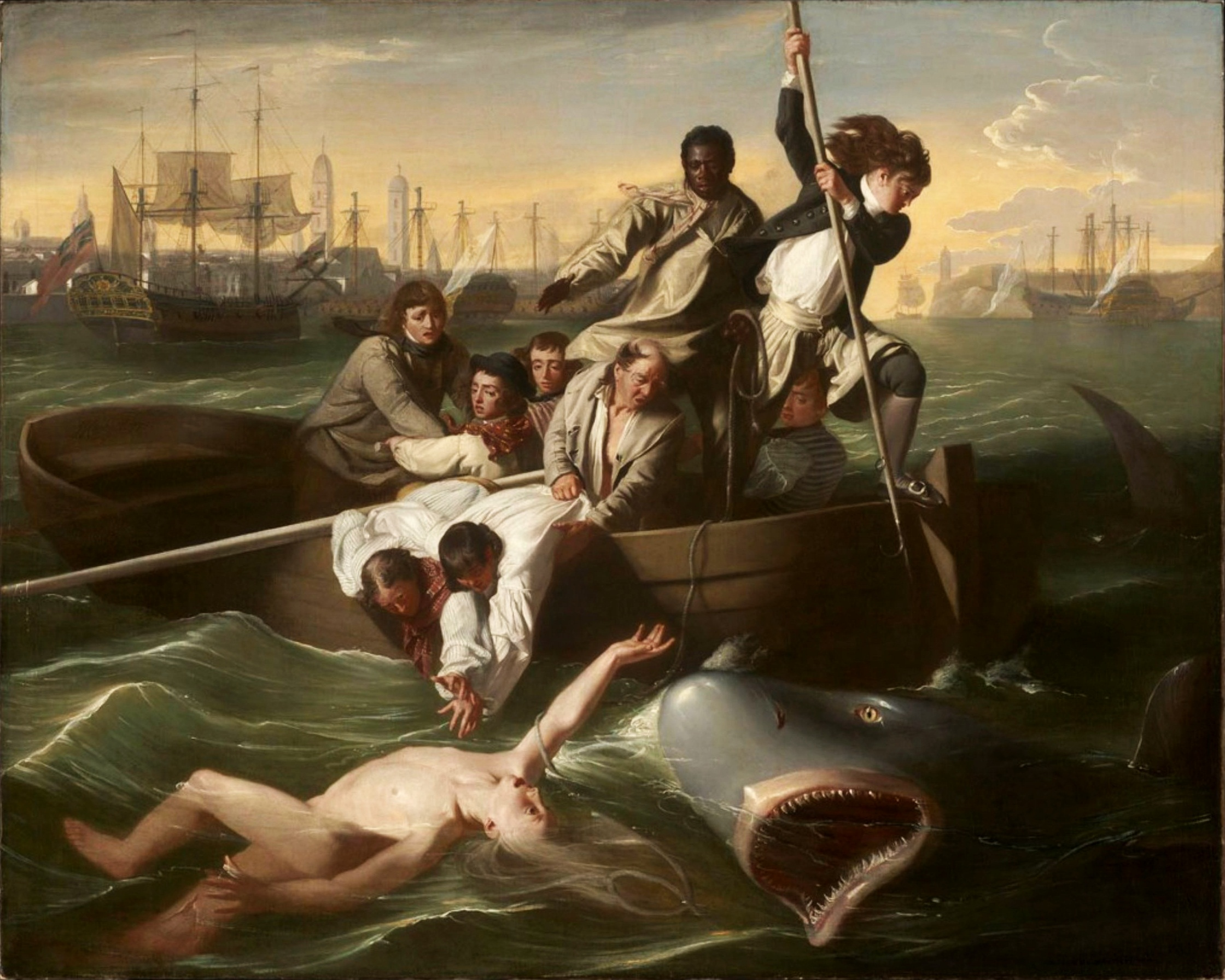 IL VELIERO CANNIBALE - WATSON AND THE SHARK