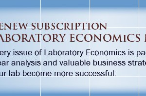 Renew your subscription to Laboratory Economics
