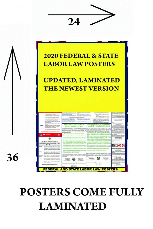 2021 florida state and federal labor law poster fl