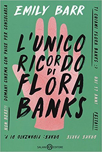 L'unico ricordo di Flora Banks Book Cover