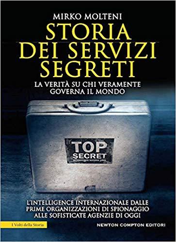 STORIA DEI SERVIZI SEGRETI Book Cover