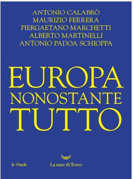 EUROPA NONOSTANTE TUTTO Book Cover