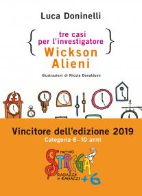 TRE CASI PER L'INVESTIGATORE WICKSON ALIENI Book Cover