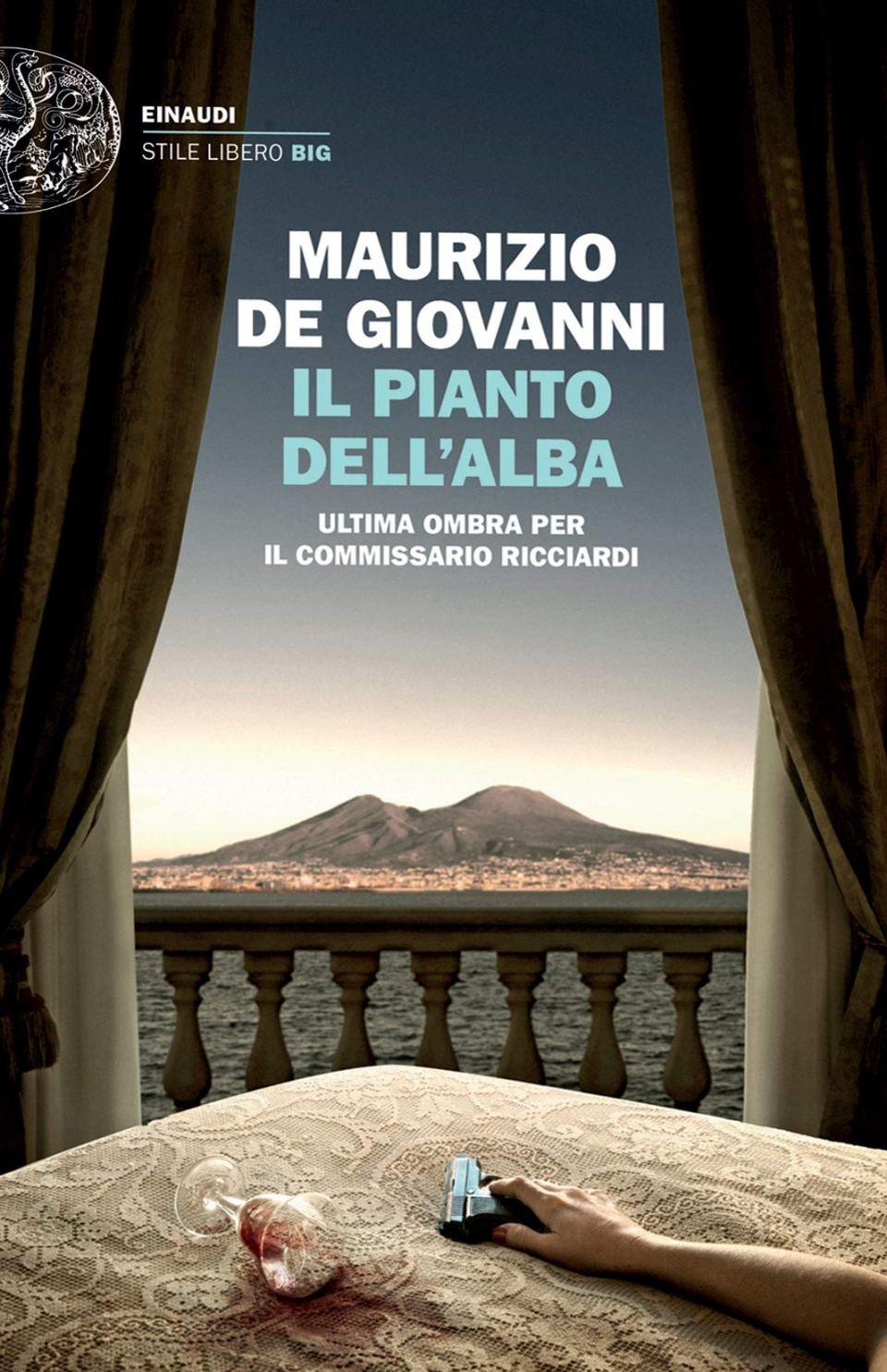 IL PIANTO DELL'ALBA. ULTIMA OMBRA PER IL COMMISSARIO RICCIARDI Book Cover