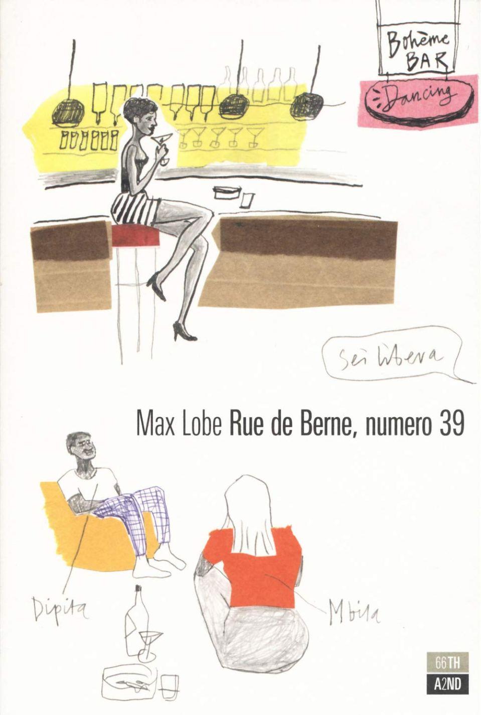 RUE de BERNE, numero 39 Book Cover