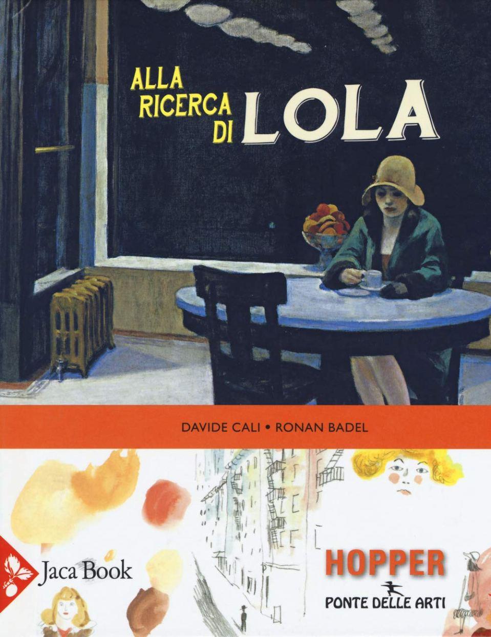 ALLA RICERCA DI LOLA Book Cover