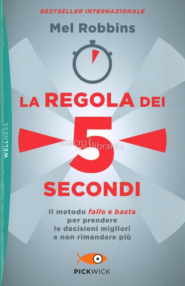 La regola dei 5 secondi Book Cover
