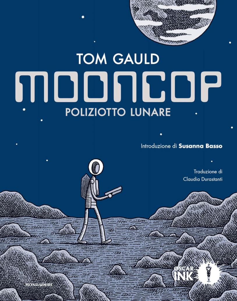 Mooncop: Poliziotto Lunare Book Cover