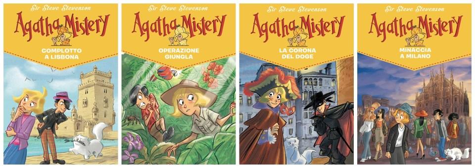 Agatha Mistery Book Cover
