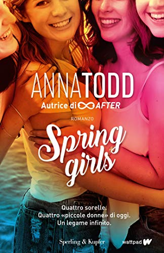 Spring girls Book Cover