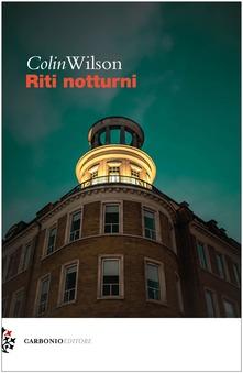 Riti notturni Book Cover