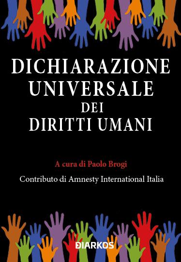 La dichiarazione universale dei diritti umani Book Cover