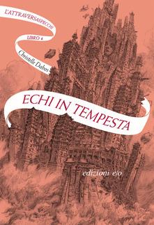 Echi in tempesta Book Cover