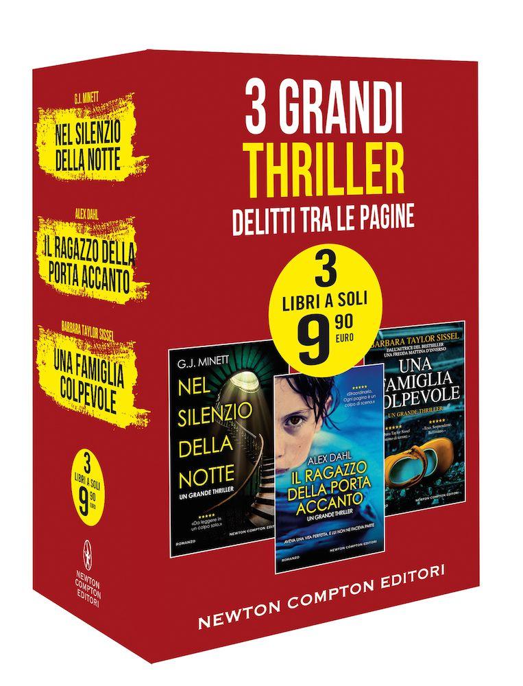 3 Grandi Thriller Book Cover