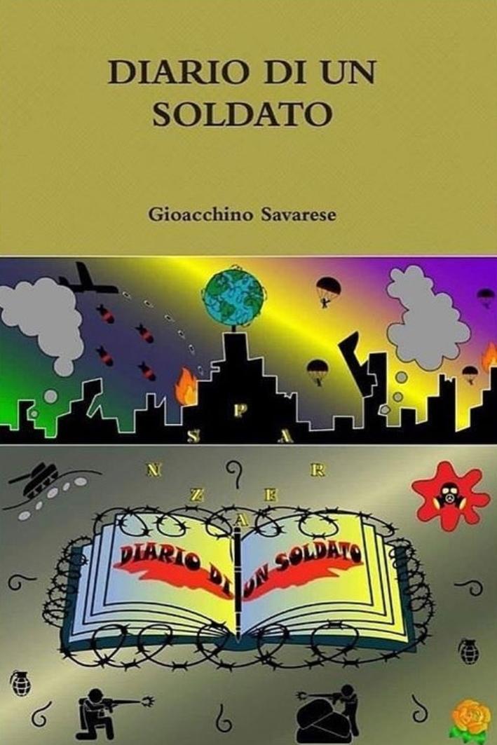 Diario di un soldato Book Cover
