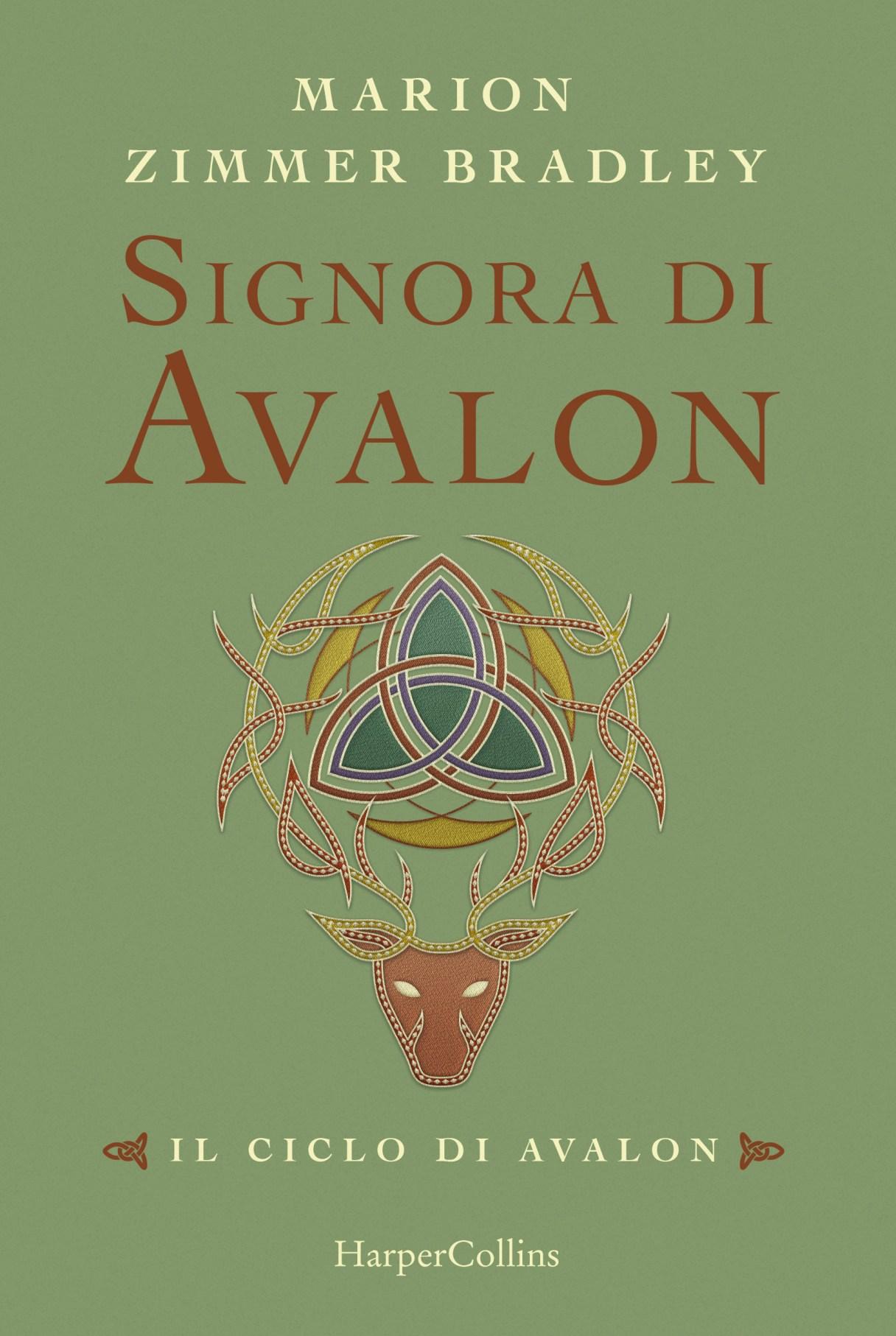 Signora di Avalon Book Cover