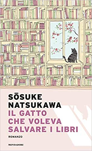 Il gatto che voleva salvare i libri Book Cover