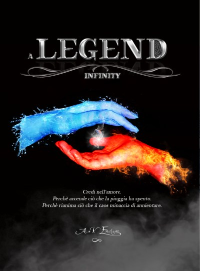 A legend- Infinity Book Cover