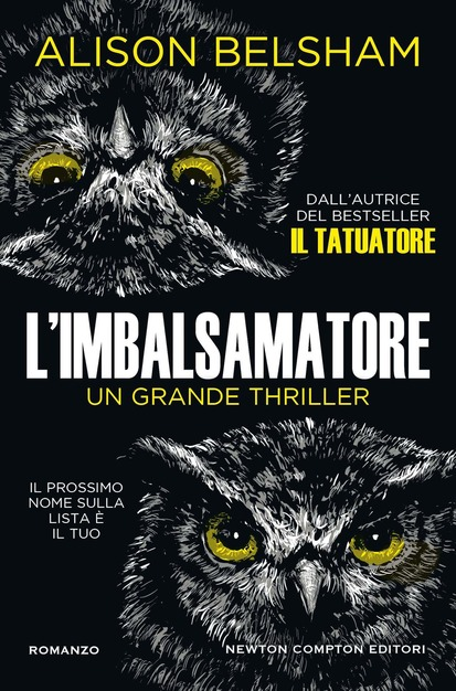 L'imbalsamatore Book Cover