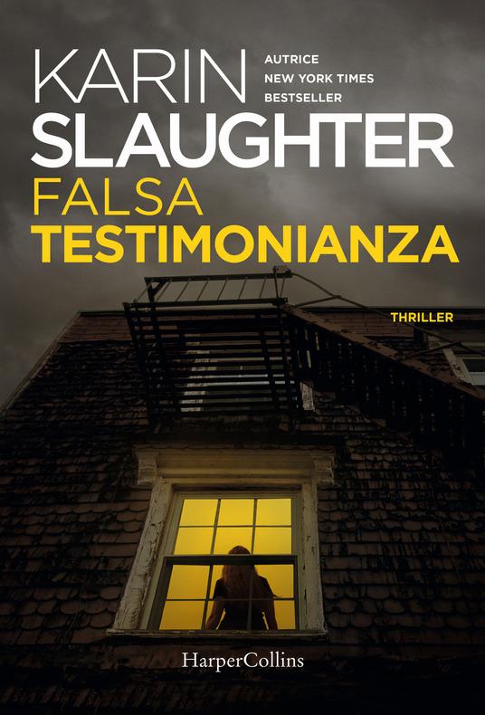 FALSA TESTIMONIANZA Book Cover