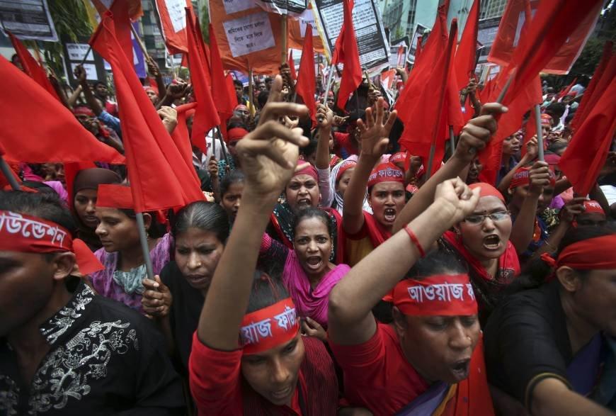 Bangladesh: lavoratori in lotta