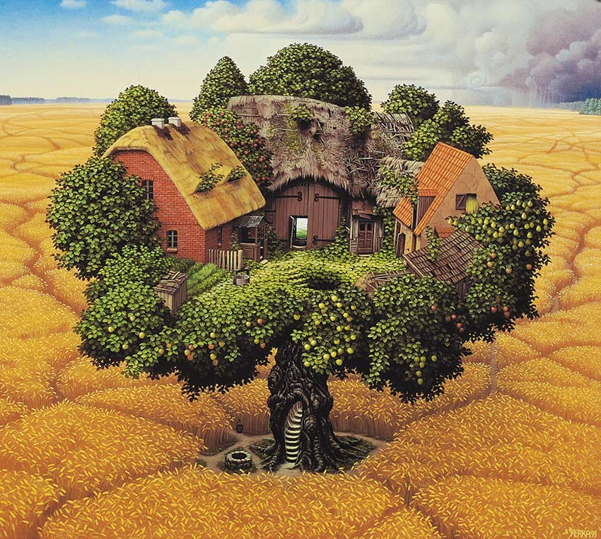 Yerkaland-surreal-paintings-of-Jacek-Yerka-17