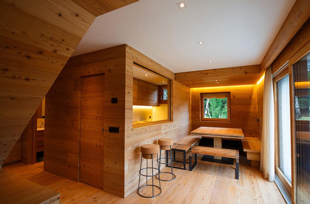 Bioarchitettura, consulenza, vendita, progettazione case in legno. Arredamento Di Montagna La Bottega Del Legno