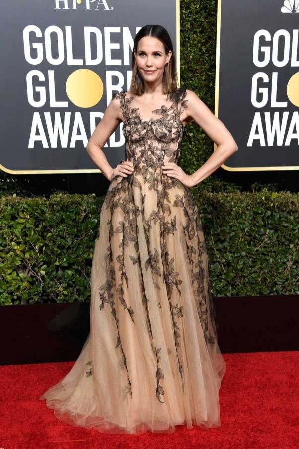 Leslie Bibb in Schiaparelli Haute Couture