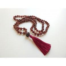 Un mala tibetano, il rosario buddista