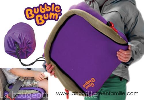 le bubble bum le r hausseur voiture pour enfant emmener partout en voyage test et approuv. Black Bedroom Furniture Sets. Home Design Ideas